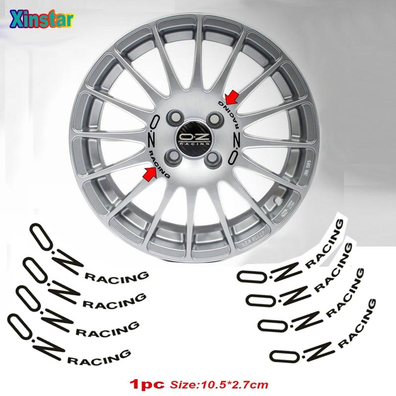 8 шт. наклеек на автомобиль для OZ Racing украшение для колес автомобиля
