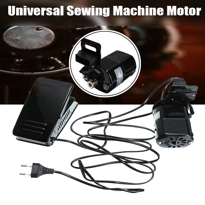 220V 100W Sewing Machine Motor 6500RPM Universal Sewing Motor With Foot Pedal Sewing Machines Accessories Controller Speed Pedal