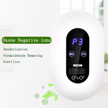 Ozone air purifiers negative ion filter fresh air filter for household formaldehyde sterilizer deodorant machine