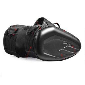 58L Motorcycle Saddlebags Rear