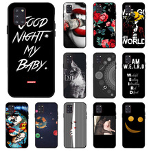 Ojeleye DIY Painted Case For Samsung A31 Cases Anti-knock Phone Cover For Samsung A11 A21 A41 A70E A01 M31 A 31 Cover Bumper ojeleye fashion black silicon case for meizu meilan 6 cases anti knock phone cover for meizu m6 m711q m711c covers