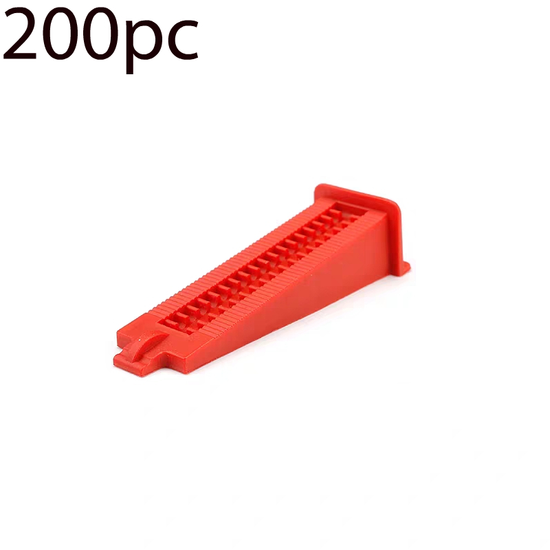 200Pc Universal Leveling Wedges Tile Levelling Spacers Flooring Tiling Tool For Suit  Household System Floor