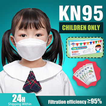 Spain 10 Days FAST Delivery Kids KN95 Mask Face Mask KN95 Respirator Mask Face KN95 Child Mask Individual Package