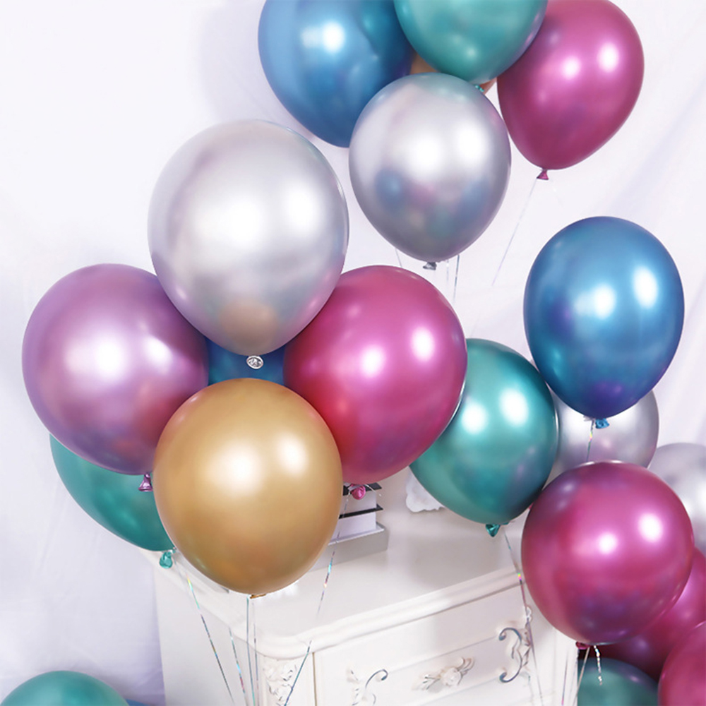 "New 12/"" METALLIC//Pearlised High Quality LATEX BALLOONS Decoration//Birthday//Party"