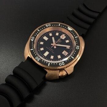 STEELDIVE CuSn8 оловянная бронза 200 м бронзовые часы для дайвинга сапфировые кристаллы NH35 автоматические механические часы для мужчин 200 м часы для
