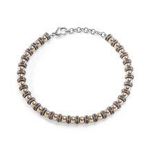 Runda модная мужская нить браслет с винтами Гальваническое розовое