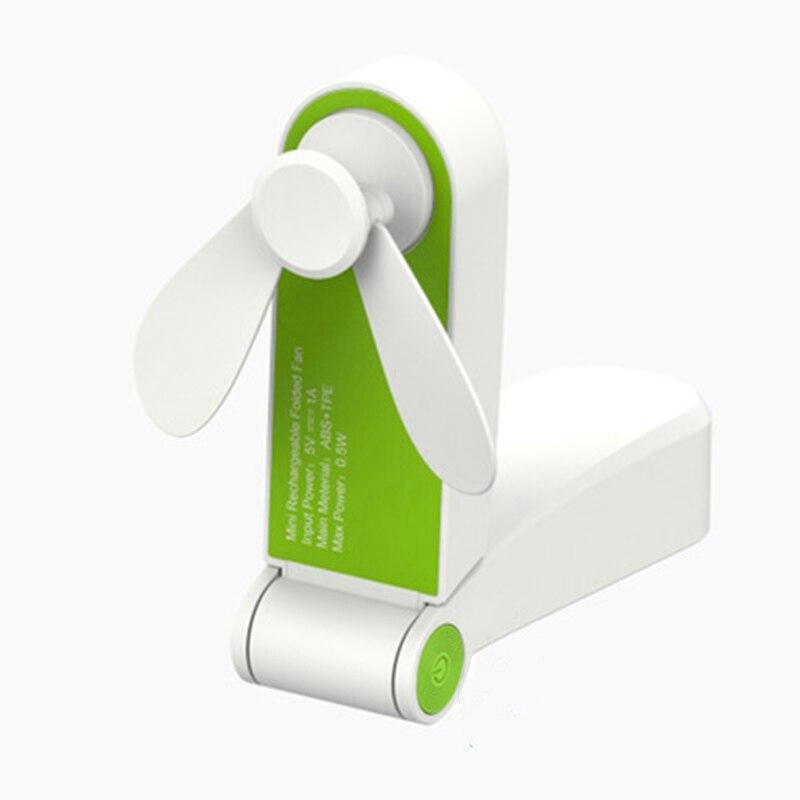 Neue Heiße Handheld Mini Fan Tragbare Falten Tasche Fan Usb Aufladbare Oder Batterie Betrieben Schreibtisch Fan
