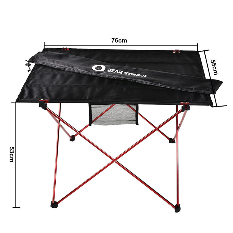 Table Folding Outdoor Furniture Desk Ultralight Camping Red Russia-Spring