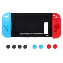 11 in 1 Silicone Cover Protective Shell Cases For Nintendo Switch Joy-Con Switch(China)
