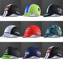 Взрослые велосипедные кепки Дышащие анти пот быстросохнущие эластичные велосипедные шапки случайный цвет