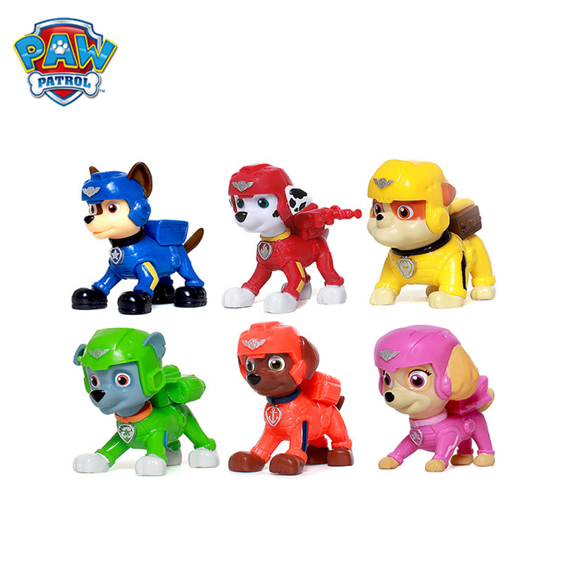 Original Box Paw Patrol Dogs Rescue Toys Action Pack Pups Figure High Quality Anime Model Dolls Children Birthday Xmas Gift