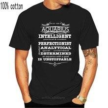 Camiseta masculina t shirt aquarius inteligente perfeccionista analítico determinado é imparável