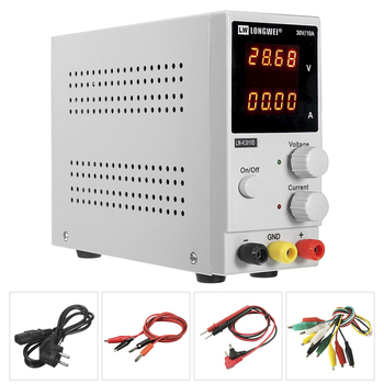 New 30V 10A DC Power Supply Adjustable 4 Digit Display Mini Laboratory Power Supply Voltage Regulator K3010D For Phone Repair oubel high precision voltage regulated lab power supply 30v 10a 60v 5a power supplies adjustable voltage and current regulator