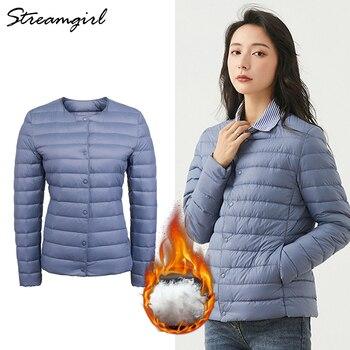 Streamgirl Lightweight Down Coat Winter Jacket Women 2020 Warm Plus Size Ultra Light Down Jacket Women Winter Coats And Jackets 1