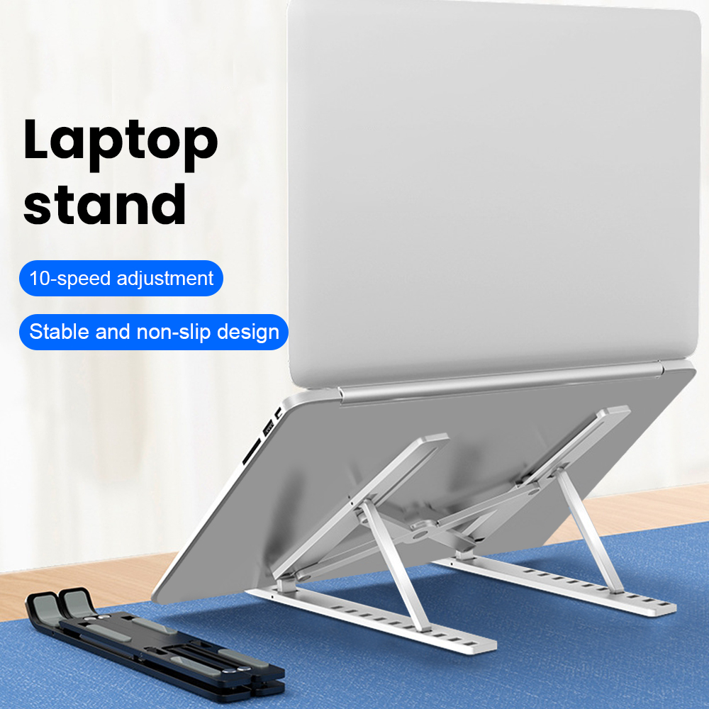2020 New Portable Laptop Stand Support Base Notebook Stand For Macbook Pro Lapdesk Computer Laptop Holder Cooling Bracket Riser