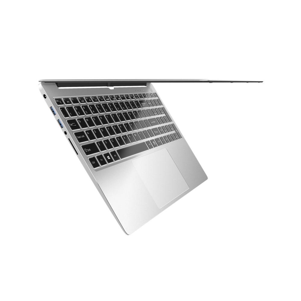 I5-8250U 8G RAM Intel Quad Core i5 Laptop Russische Backlit Tastatur Metall Netbook 15,6 Zoll Gaming Notebook Tragbare PC computer