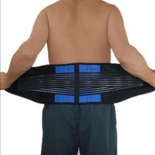 XXXXL Extra Large taglia uomo donna cintura ortopedica per corsetto medico supporto per la parte bassa della schiena cintura per colonna vertebrale piastra per postura posteriore Y010