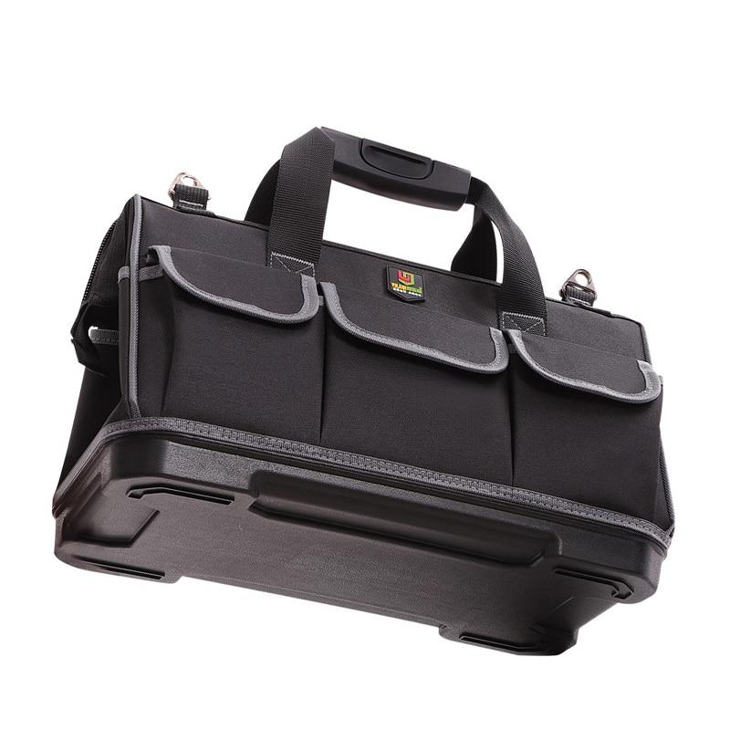 Tool Bag Big Capacity Carpentry Hardware Repair Tool Organizer Bag Storage Electrician Worker Toolbox Handbag Portable