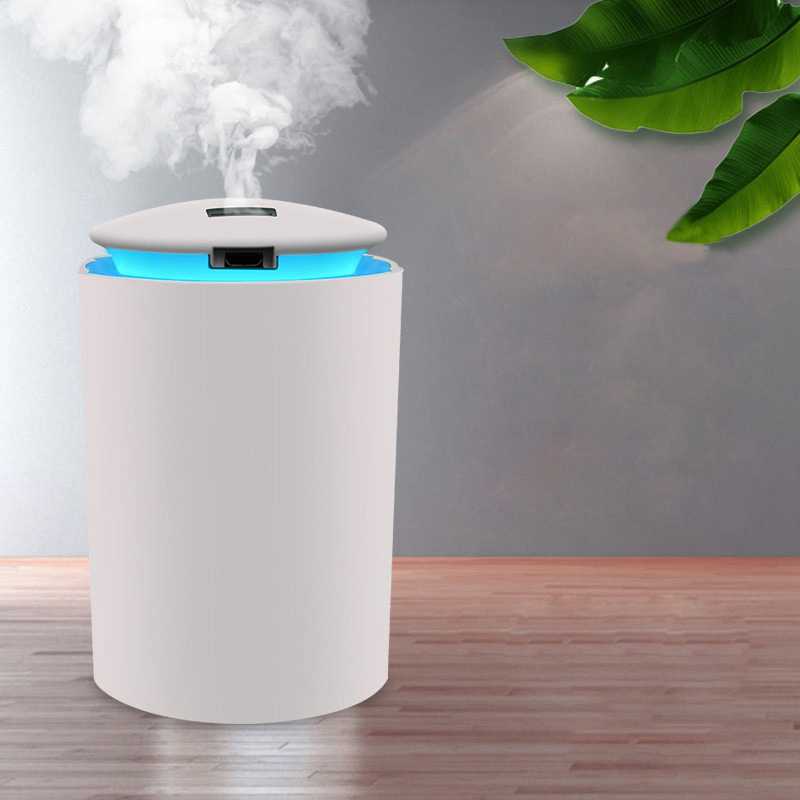 260ML Ultrasonic Mini Air Humidifier Aroma Essential Oil Diffuser for Home Car USB Fogger Mist Maker with LED Night Lamp 2020
