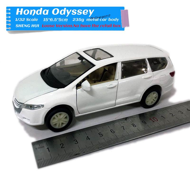 1/32 Scale JAPAN <font><b>Honda</b></font> Odyssey 14cm Length <font><b>Diecast</b></font> Metal Car Model Toy For Gift,Kids,Collection image