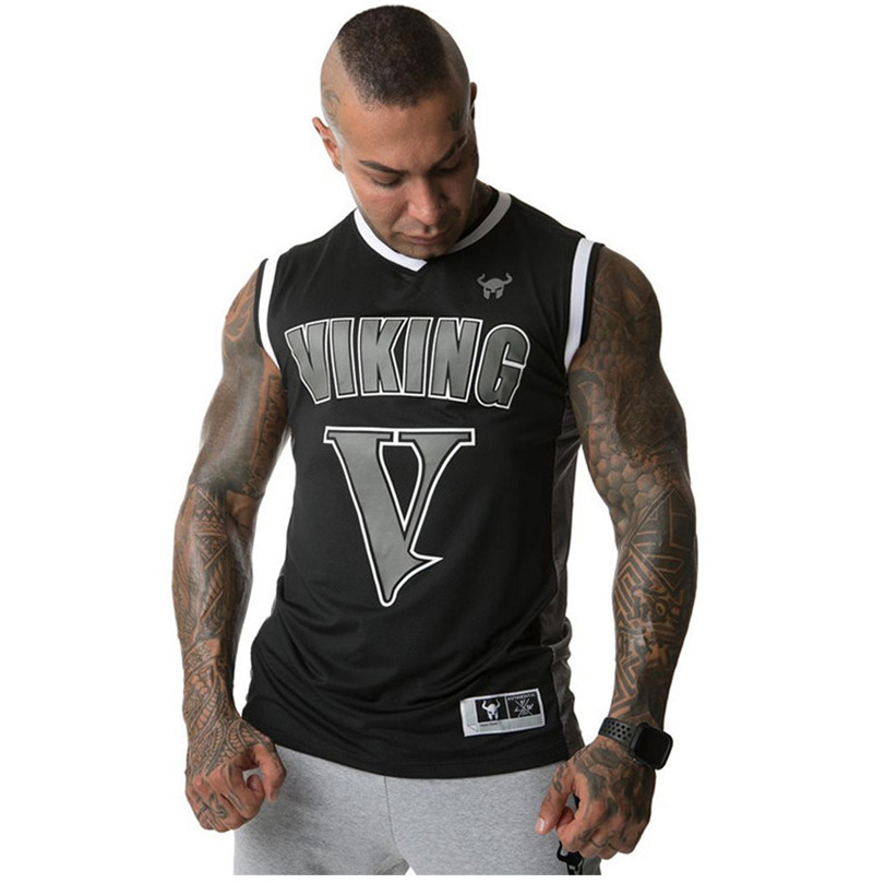Male Vest Summer New Gyms Fitness Mesh Tank Tops Jogger Running Sleeveless Quick Dry Breathable Casual Men Tank Top Clothes
