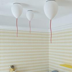Balon lampa wisząca nordycki współczesny wisząca lampa na balkon korytarz alejek osobowość twórcza dom dekoracyjny pokój dziecięcy