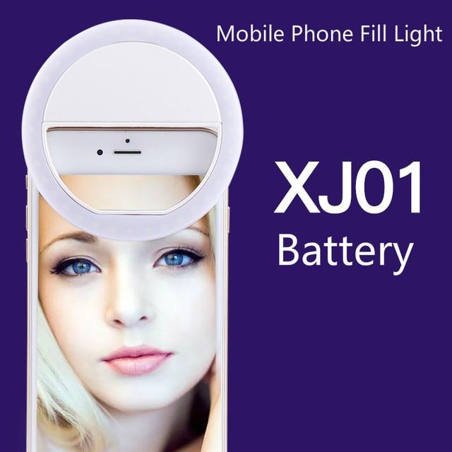 휴대 전화 보충 빛 LED 반지 보충 빛 유물 아름다움 휴대 전화 셀프 타이머 조명 라이브 Photoflash