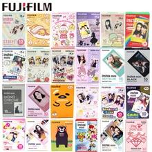 Fujifilmแผ่นฟิล์ม10แผ่นMonochrome Rainbow Macaroonใหม่AliceสำหรับFuji Instax Mini 11 7 8 Mini 9 50S 7S 90 25หุ้นSP 1ทันที