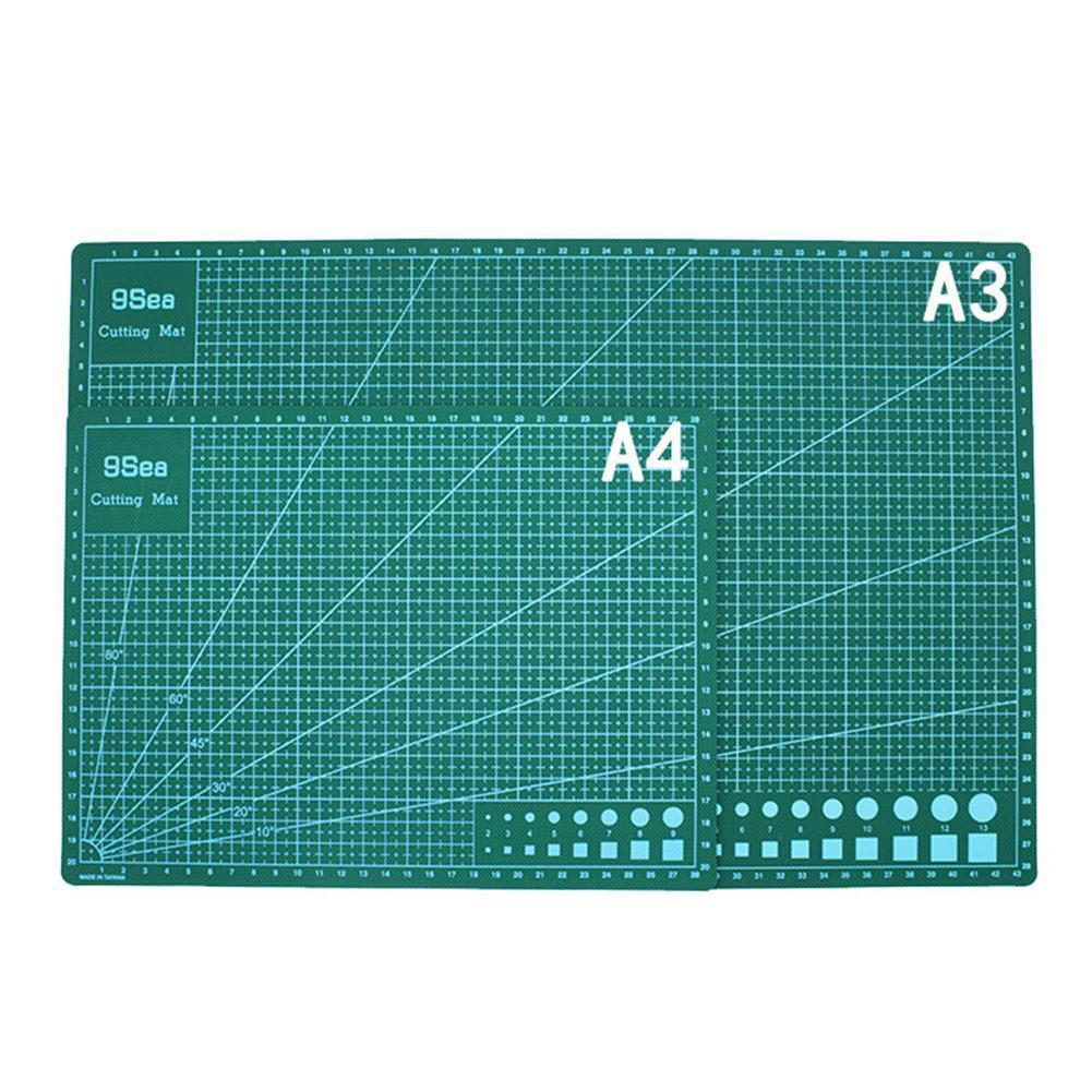A3 A4 Double-sided Cutting Pad Pvc Cutting Mat Pad Patchwork Para Manualidades Tool Corte Self-healing De Tablas Diy Cuttin A3Q4