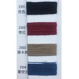 Image 3 - 120 KG 10s/2 100% hilo de algodón para tejer Hilo de Tejer en color hilado peinado ecológico saludable pequeño venta al por mayor