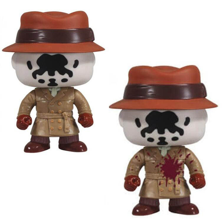 Watchmen Rorschach Limited Ver. Figure Collection Vinyl Doll Model Toys