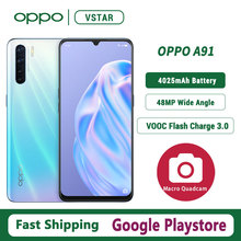 OPPO A91 Smartphone Google Play 128GB GSM/WCDMA/LTE VOOC Game Turbogpu Turbo/gorilla Glass