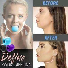 Maxila trainer face-lift artefato facial dispositivo de mastigação muscular rosto e pescoço exercício bola força trainer expansor equipamentos