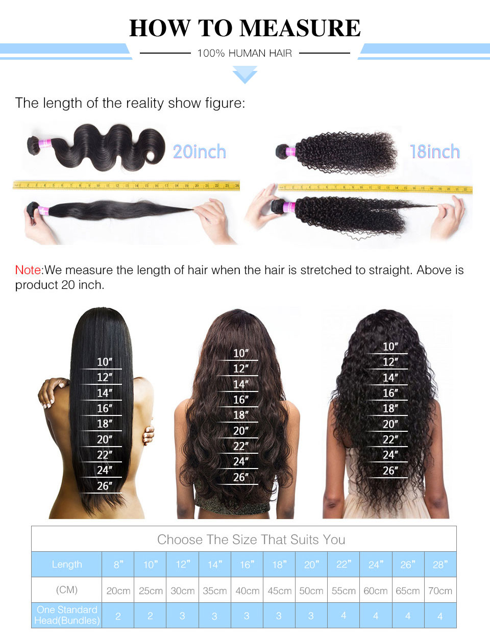 fechamento do laço perucas de cabelo humano