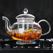 Tortoise Clear Glass Teapot with Glass Infuser and Glass Lid for Tea Leaf Loose Tea 33.8oz цена 2017
