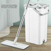 Fregona exprimidora con cubo escurridor para lavado limpieza de suelo ayuda relámpago ofrece prácticos limpiadores húmedos domésticos ama de llaves