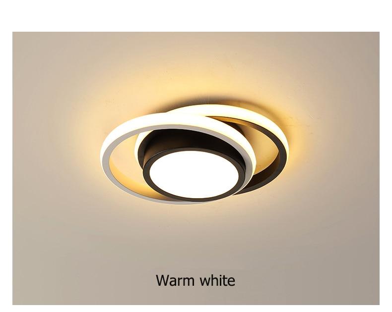 Modernas luzes de teto led para sala