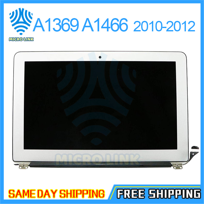 new Complete A1466 LCD Screen Assembly for Macbook Air 13'' A1369 Display Replacement 661-5732 MC503 MC965 2010 2011 2012(China)