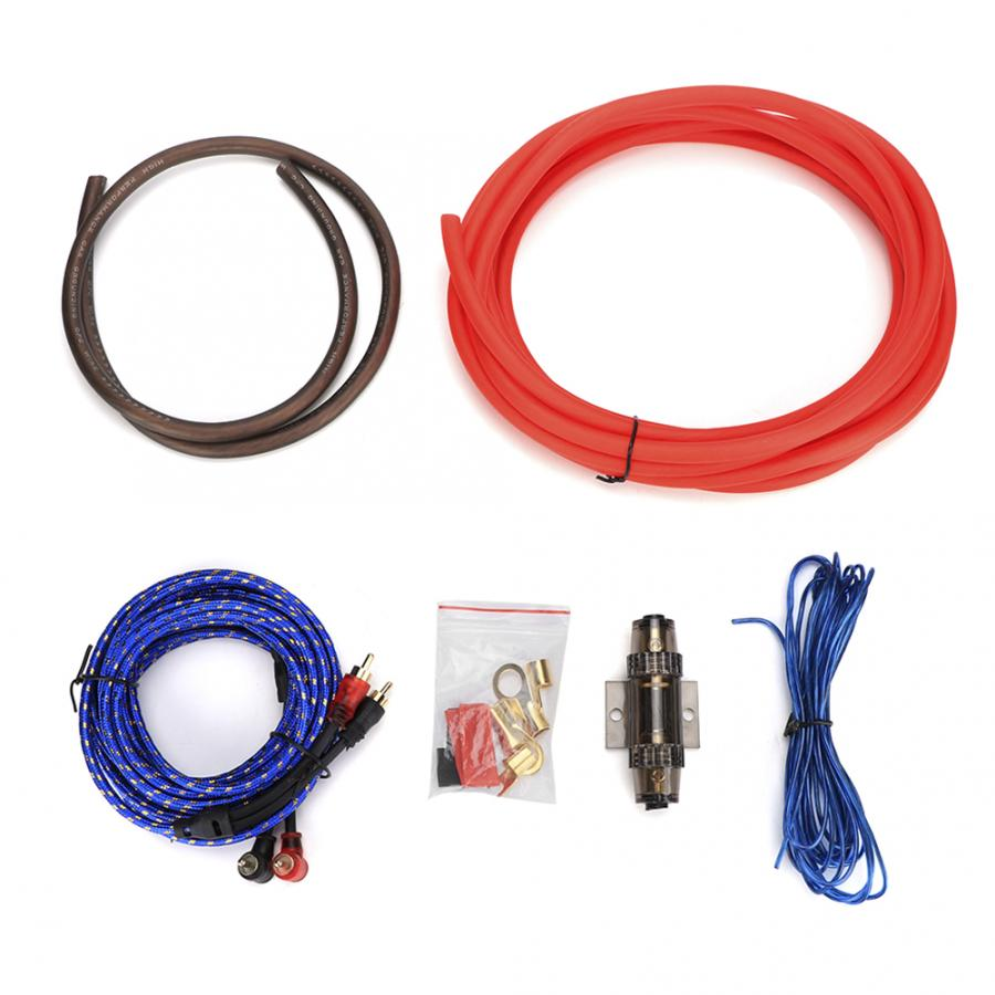 audio amplifier wiring 1 set 4ga car audio subwoofer amplifier cables wire kit speaker audio amplifier with wifi 1 set 4ga car audio subwoofer amplifier
