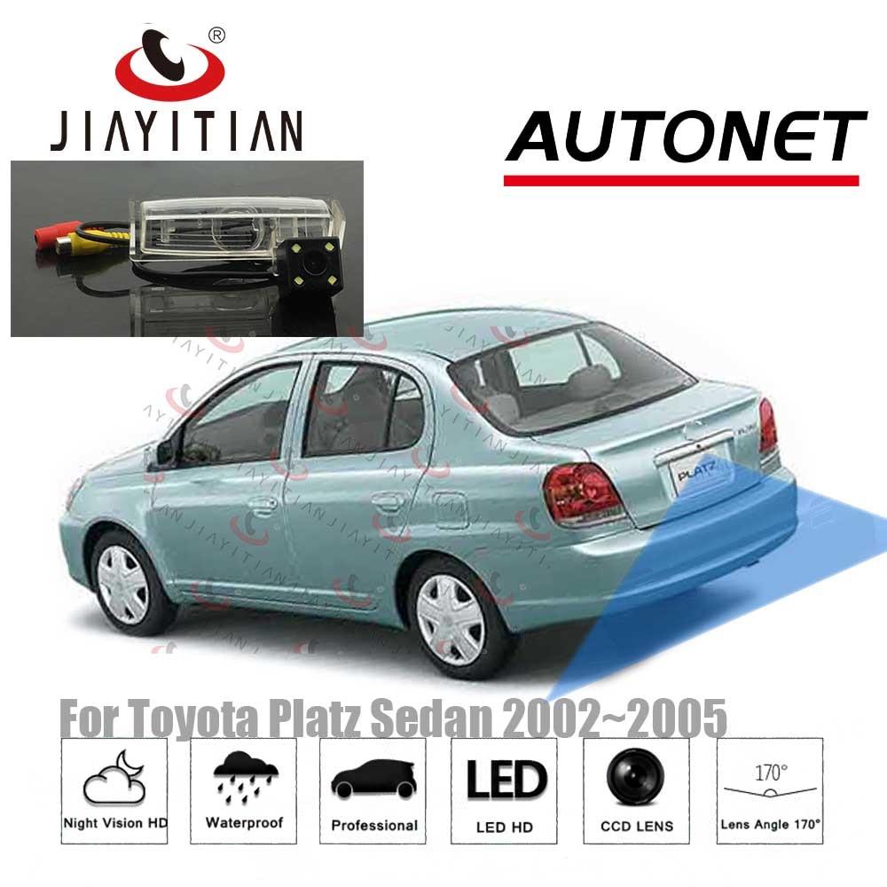 JIAYITIAN Rear View Camera For Toyota Platz Echo Xp20 2002 2003 2004 2005  CCD/Night Vision/Backup Reverse Parking  Camera