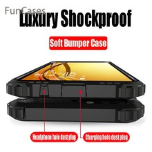 Luxury Shockproof Armor Case On The For Xiaomi Mi 9 8 SE A1 A2 Silicone Case For Xiaomi Mi Pocophone F1 6X 6 Plus Max2 Max3 Case(China)