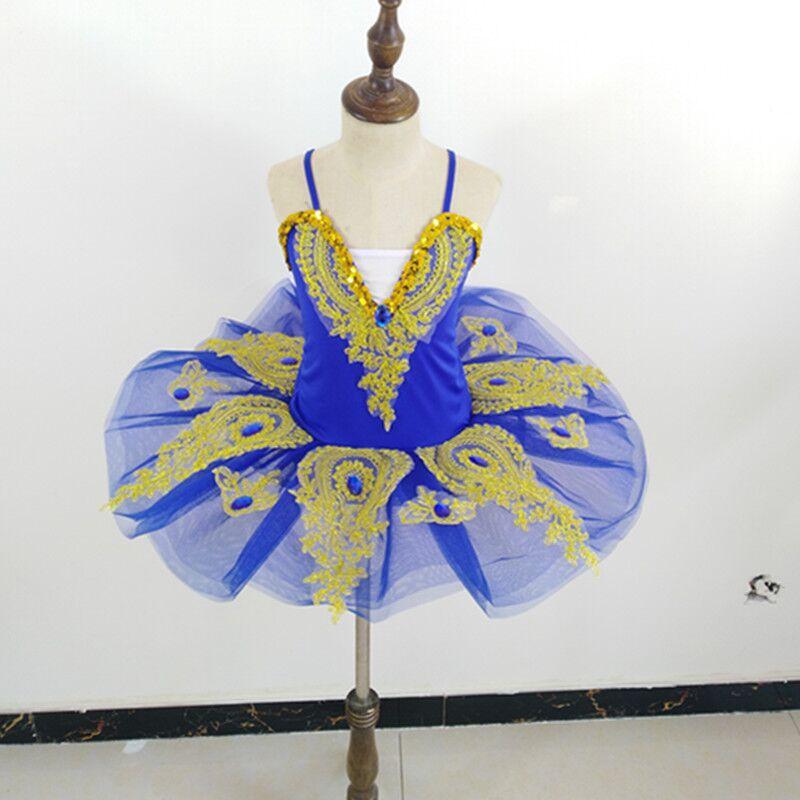 Детская танцевальная юбка балетное платье для девочек Новая юбка-американка с блестками, лебедь, одежда для выступлений для соревнований