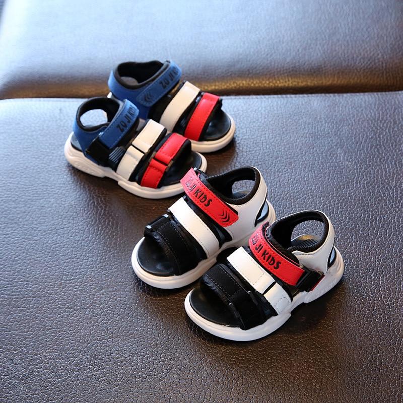 2020 Boys Sandals Soft Bottom Children's Beach Shoes Kids Sandals Baby Comfortable Sandals Girls Beach Shoes Kids Casual Sandals