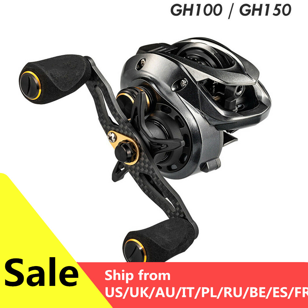 2020 Fishband Baitcasting Reel GH100 GH150 7.2:1 Carp Bait Cast Casting Fishing Reel For Trout Perch Tilapia Bass Fishing Tackle