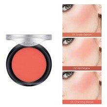 6 Colors Face Pigment Blusher Blush Powder Brozer Cosmestics Professional Palette Contour Shadow