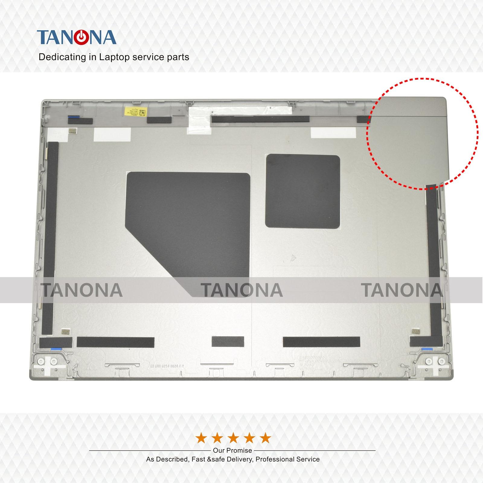 Orig novo 02hm495 para lenovo thinkpad t490s lcd tampa traseira capa traseira caso superior gabinete habitação chassis escudo portátil fhd prata