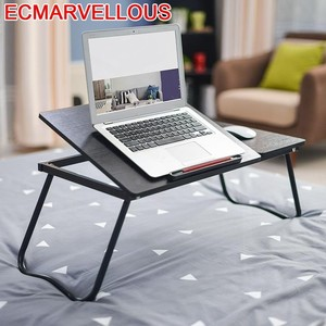 Image 1 - Bsdt عنبر السرير مع بسيطة الأداة للطي طاولة مكتب التعلم دفتر comter كسول شحن مجاني
