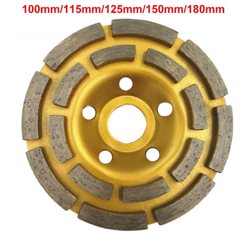 125mm//150mm//180mm Diamond Bowl Cup Segment Grinding Wheel Concrete Grinder Disc