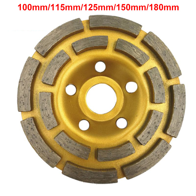 100/115/125/150/180mm Diamond Segment Grinding Wheel Cup Disc Grinder Concrete Granite Stone Cut