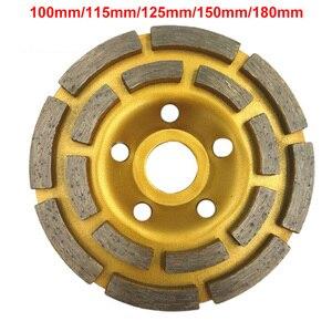 100/115/125/150/180mm Diamond Segment Grinding Wheel Cup Disc Grinder Concrete Granite Stone Cut(China)